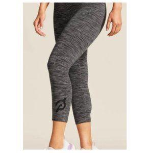 ALO Yoga Gray Space-dye Crop Workout Legging Small